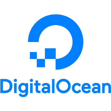 Logo for DigitalOcean.